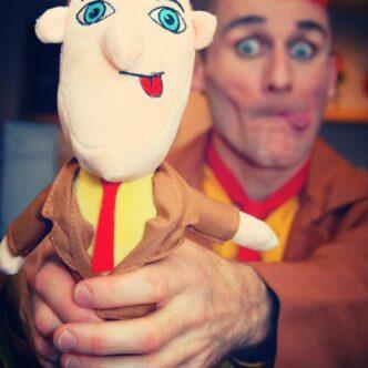 Tweedy Clown Doll